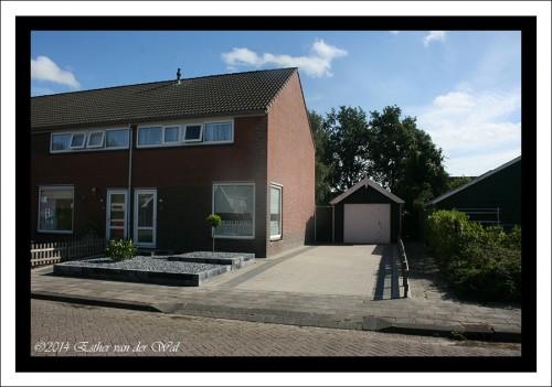 Ons huidige huis in Damwoude