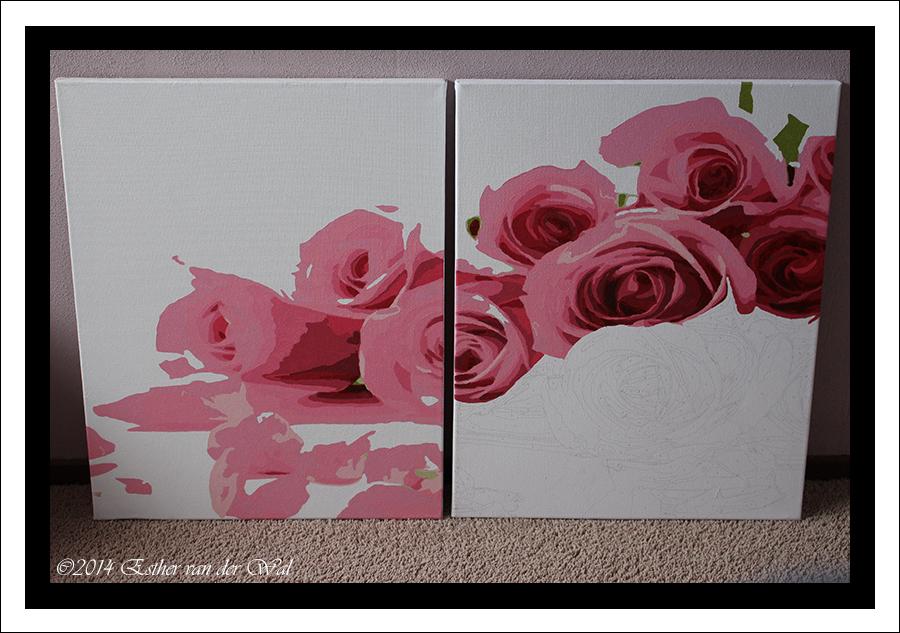 Inpakken, verhuisdrukte en…. schilderen