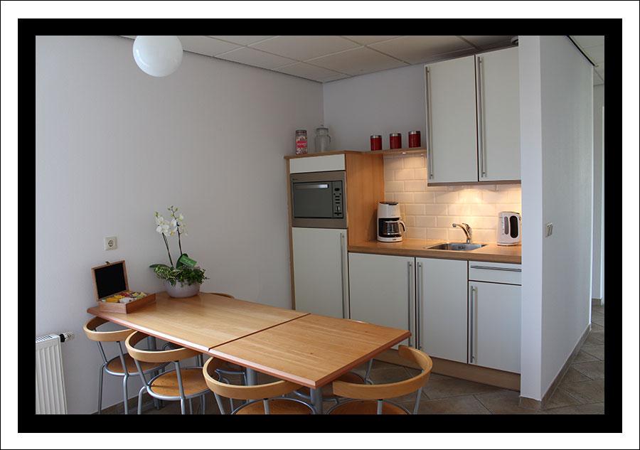 Keuken Bedrijfsgedeelte