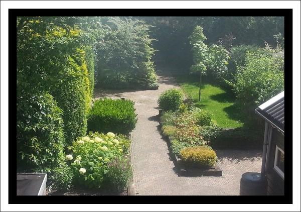 Toch was het een mooie tuin....