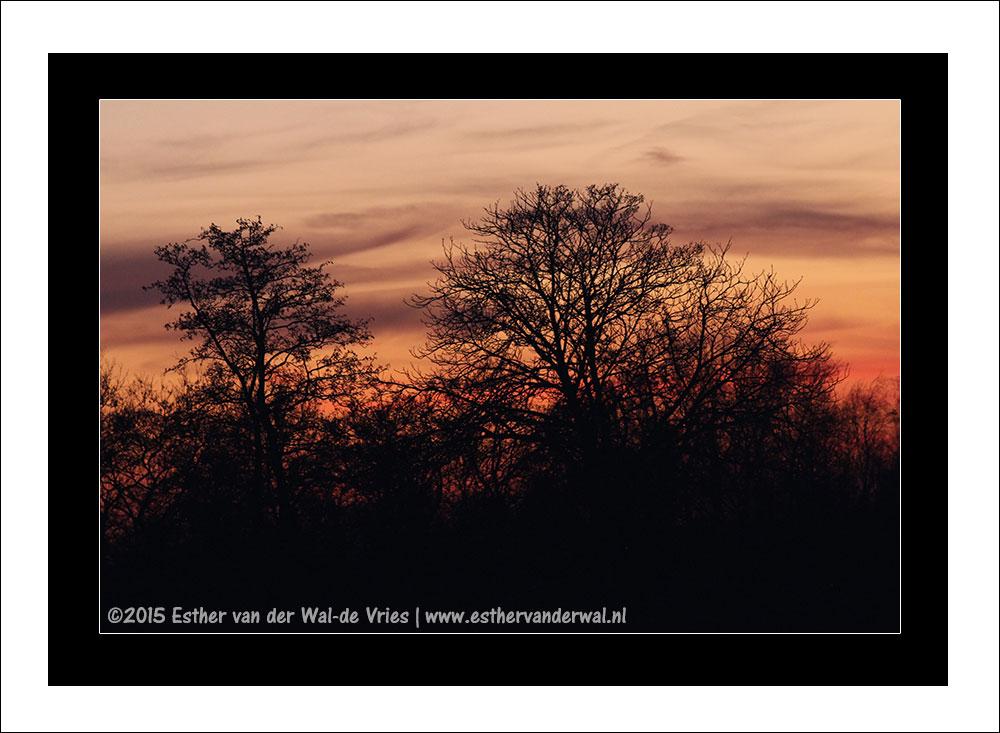 Zonsondergang 7 maart 2015