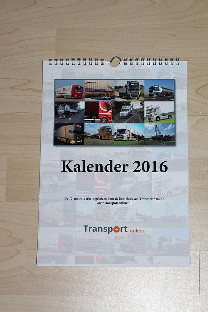 Transport Online Kalender 2016