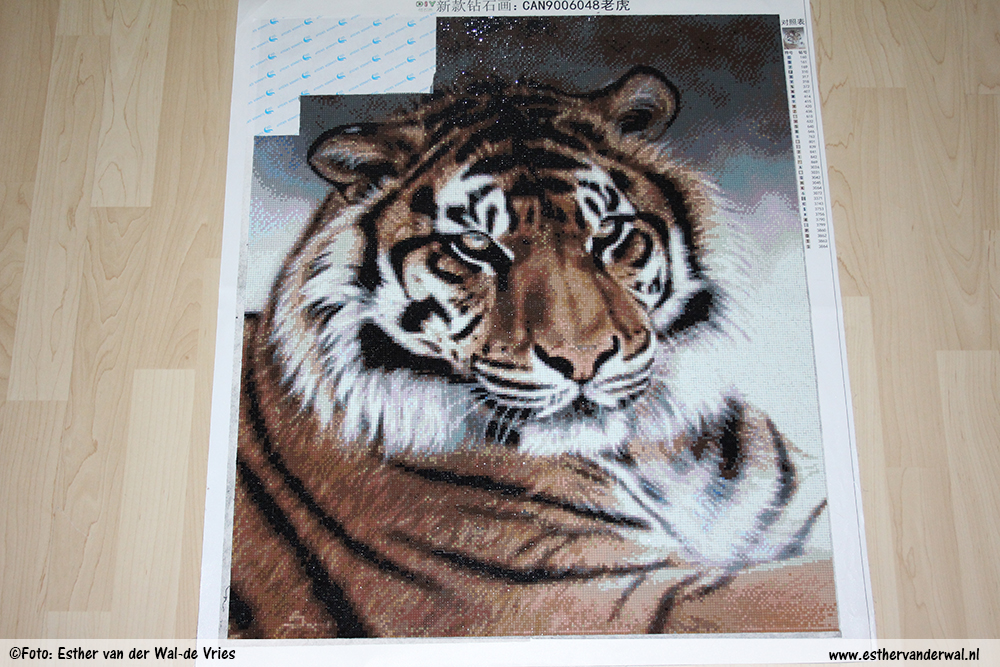 Diamond Painting – Tijger