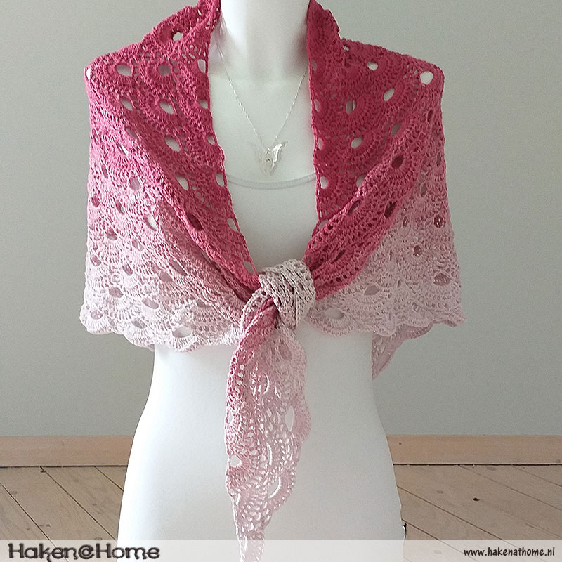 'Pink Summer' Omslagdoek